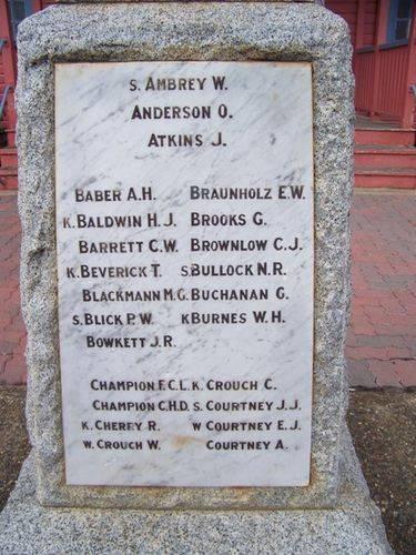 Jandowae War Memorial