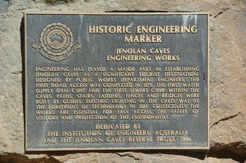 Historical Engineering marker : November 2013