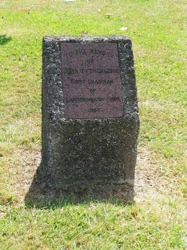 John Tytherleigh Memorial - Oct 2012