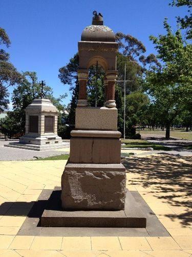 Starkie Memorial Fountain 2 : November 2013