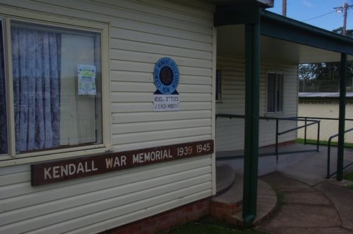 Kendall War Memorial Centre : June 2014