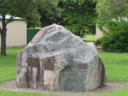 Kilkivan War Memorial  March 2013