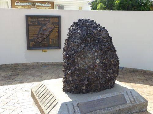 Kokoda Stone & Memorial Plaque : 27-05-2014