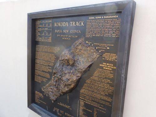 Kokoda Track Memorial Plaque 3 : 27-05-2014