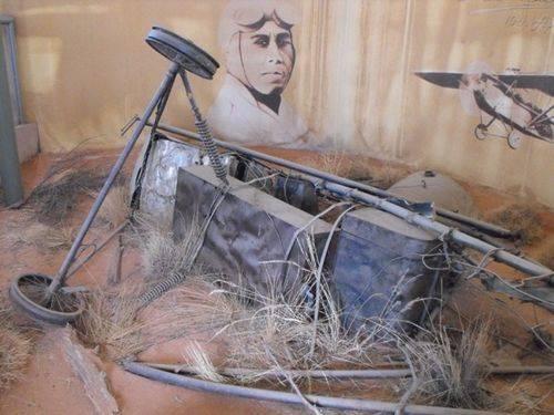 Kookaburra Wreckage Display