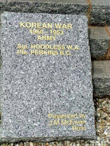 Korean War Tablet : 2007