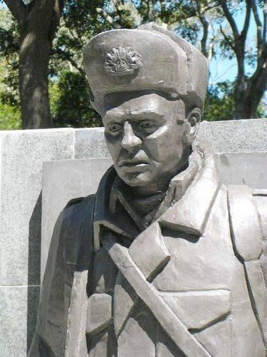 Korean War Soldier Closeup