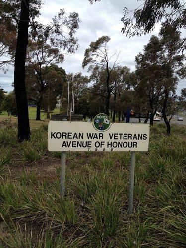 Korean Avenue of Honour : October 2013