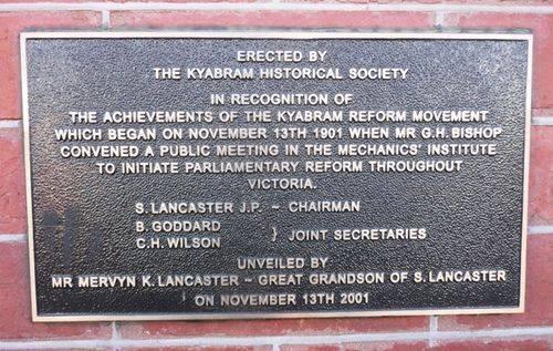 Kyabram Reform Movement : 21-July-2012