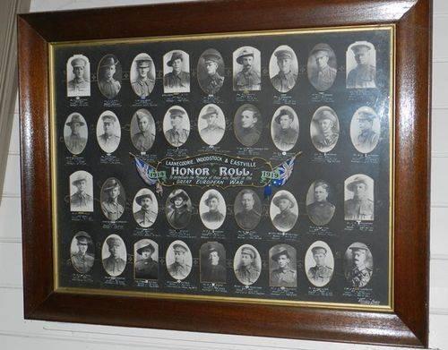 Laanecoorie, Woodstock & Eastville District Honour Roll : 01-June-2013