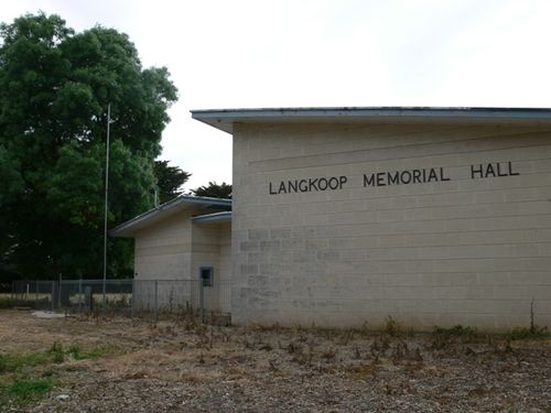 Langkoop Memorial Hall : 31-October-2011