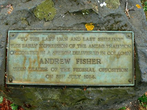 Last man and last shilling monument