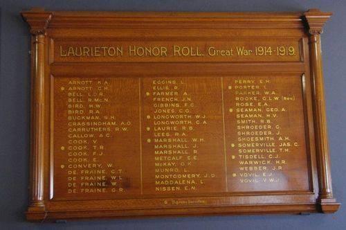 Laurieton Honour Roll : June 2014