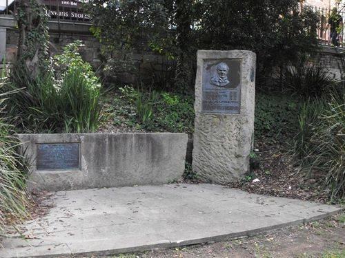 Lieutenant George Barney Memorial & Engineers Wall