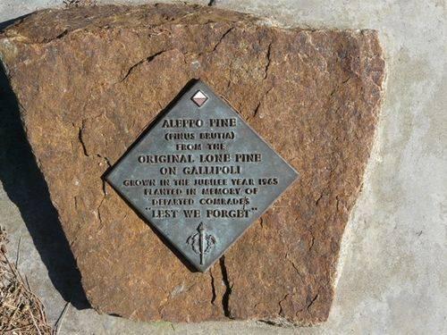 Lone Pine Memorial : 28-September-2011