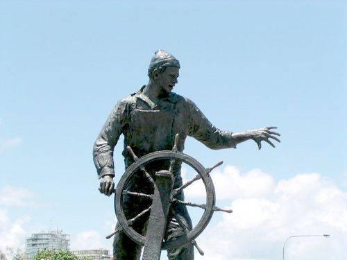 Lost Fishermen Memorial Closeup