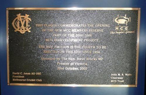 M.C.C. Members Reserve : 27-June-2012