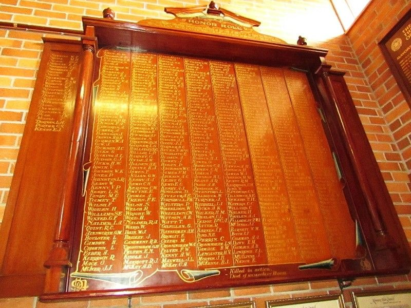 Honour Roll 3 : 19-May-2015