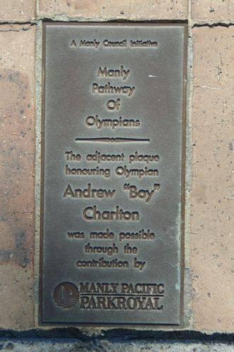 "Andrew ""Boy "" Charlton Inscription : December 2013"