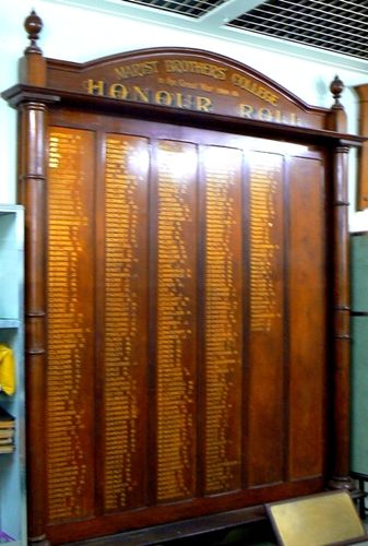 Marist Brothers College Honour Roll  08 Nov 2009