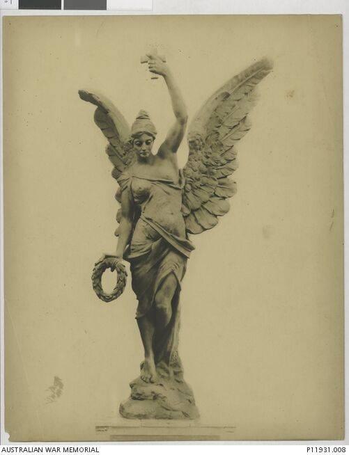 1920s : Macquette by Gilbert Doble (Australian War Memorial : P11931.008)
