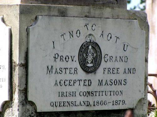 Masons Plaque