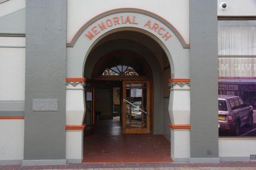 Memorial Arch : July 2014
