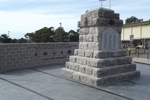 Miranda War Memorial : July-2014