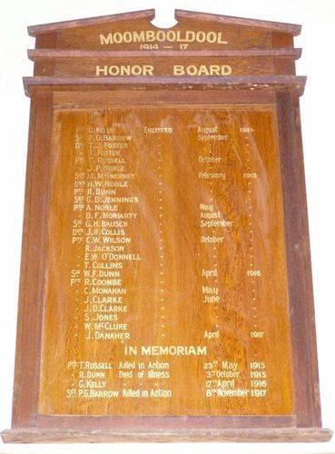 Moombooldool Honour Board : 27-03-2014