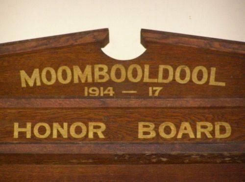 Honour Board 1914-1917 : 27-03-2014