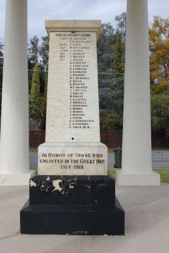 Mooroopna War Memorial : 30-September-2012
