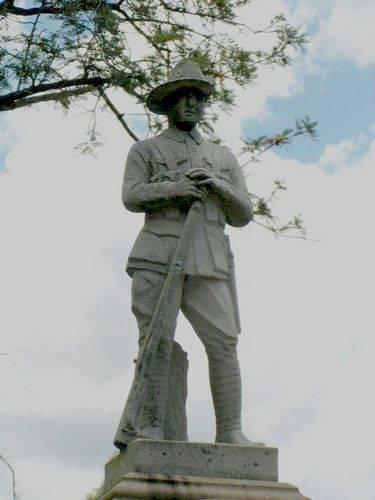 Mount Alford War Memorial Digger