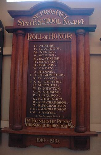 Mount Prospect State School Honour Roll : 09-June-2013