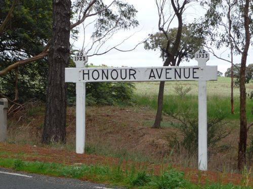 Moyston Avenue of Honour
