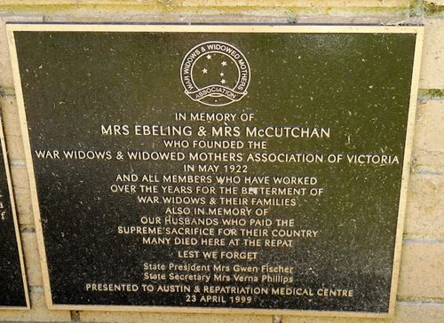 Mrs Ebeling & Mrs McCutchan : 7-March-2012
