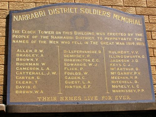 Soldiers Honour Roll 1 : 11-August-2014