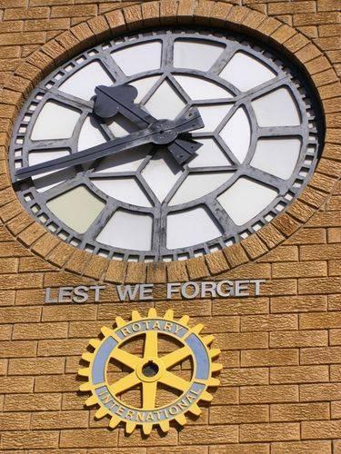 Soldiers Memorial Clock : 11- August-2014