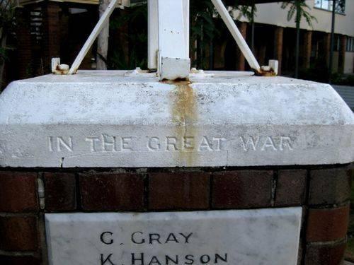 New Farm School War Memorial Insc 2 :14-03-2010