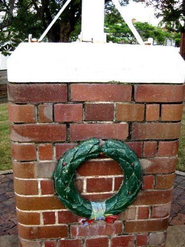 New Farm War Memorial Wreath: 14-03-2010