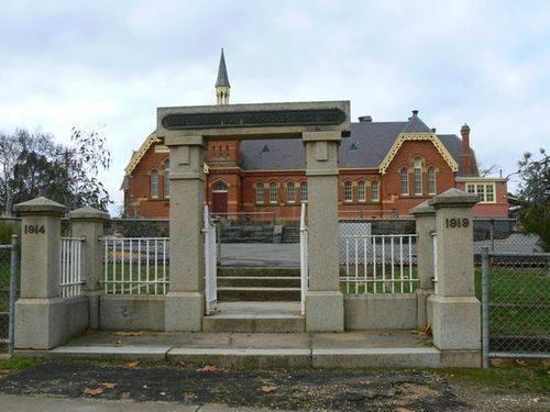 North Castlemaine Public School Memorial Gates