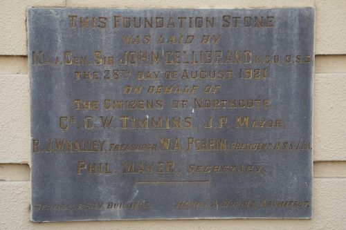 Foundation Stone Inscription : July -2014