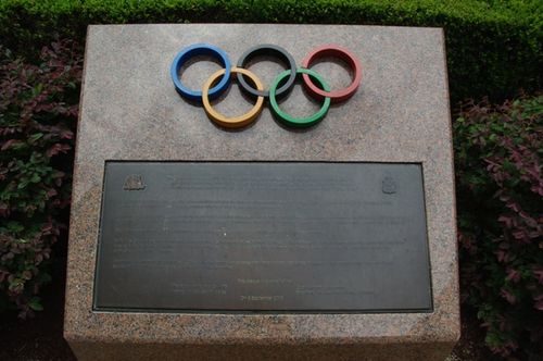 Olympic Memorial Plaque : 09-January-2013
