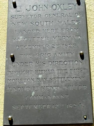 Oxley Plaque