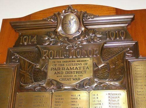 Honour Roll Closeup : 30-August-2014