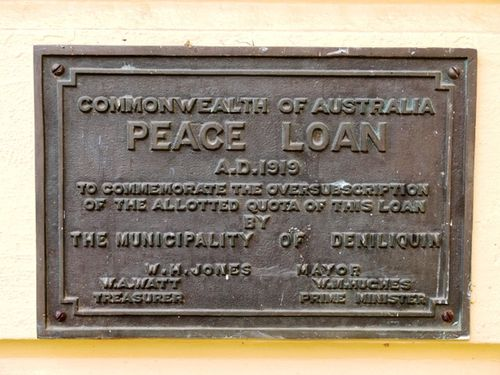 Peace Loan : 18-May-2013
