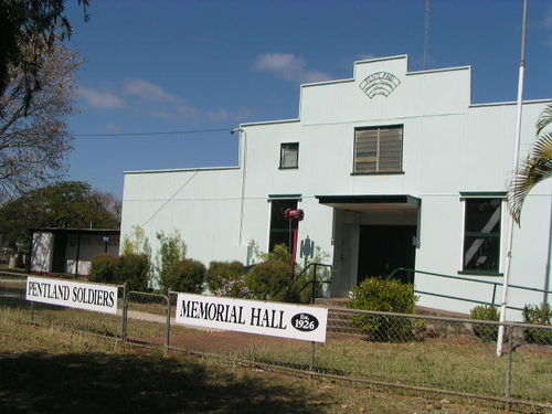 Pentland Soldiers Memorial Hall