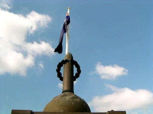 Pinkenba War Memorial Closeup