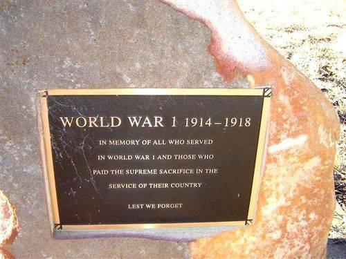 Pittsworth Avenue of Honour Plaque : 19-07-2006