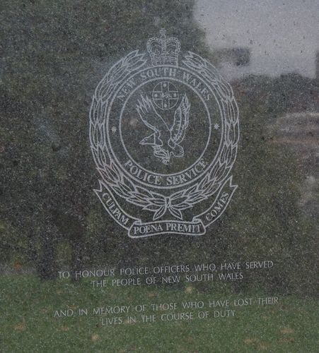 Police Service Wall of Remembrance : 09-January-2013