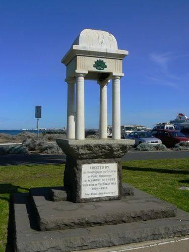 Port Melbourne War Memorial
